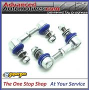 SuperPro Heavy Duty Adjustable Drop Link Kit 85mm - 100mm - Subaru Impreza 02-14